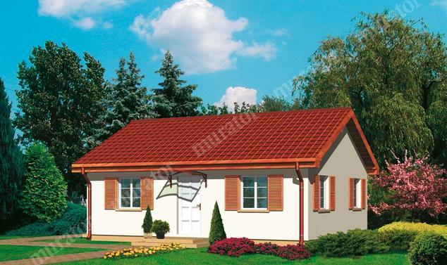 Projekt domu:  Murator C01   – Pod tęczą (rekreacyjny)