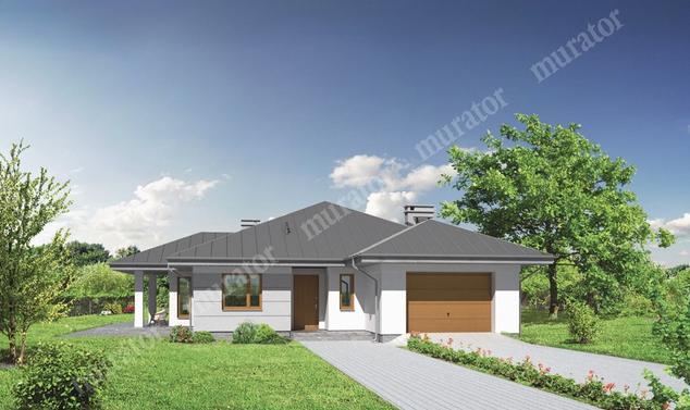 Projekt domu:  Murator M130   – Bajkowy świat