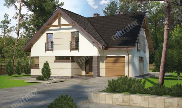 Projekt domu:  Murator M133   – Optymalny