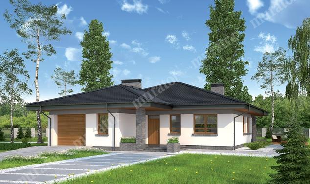 Projekt domu:  Murator M42   – Przemyślany