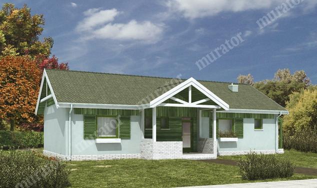 Projekt domu:  Murator WM15   – Zimorodek